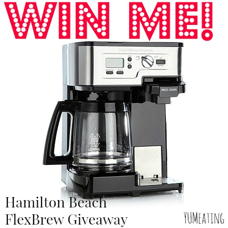 Hamilton Beach Saves My Morning Routine #giveaway | YUM eating