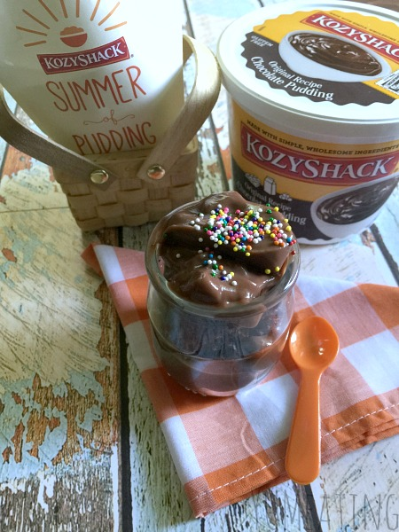 #SummerofPudding with #KozyShack : Chocolate Cherry Cake Cups