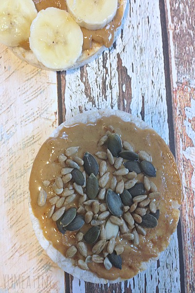 Quick Guide: How to Make Tasty Treats with Brown Rice Cakes #meatlessmonday | YUM eating