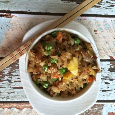 (Leftover) Pork Fried Rice