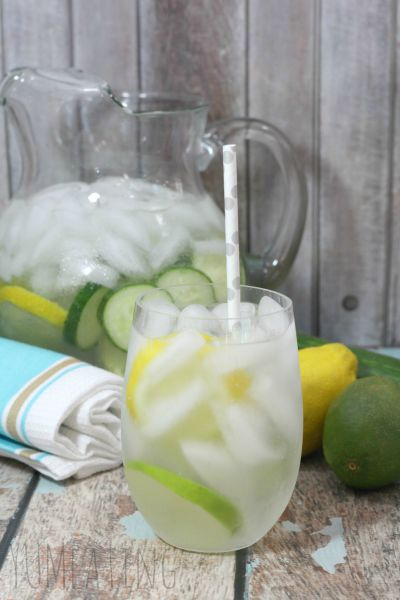 Lemon Lime Detox Water | YUM eating