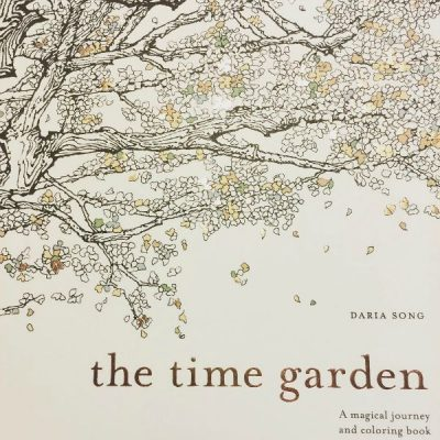 #adultcoloring The Time Garden: A Magical Journey and Coloring Book