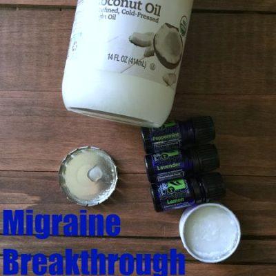 Break Through that Migraine with Essential Oils