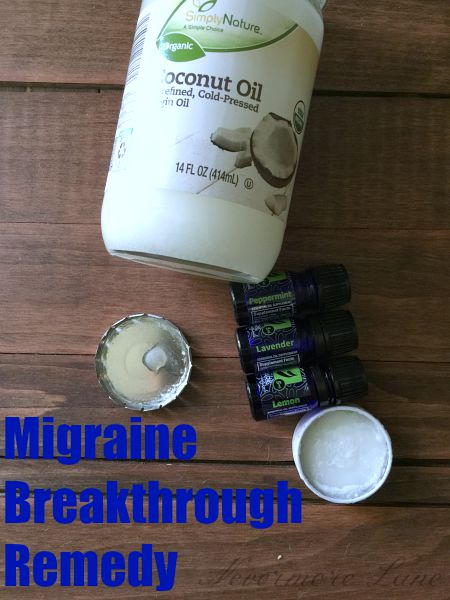 Break Through that Migraine with Essential Oils