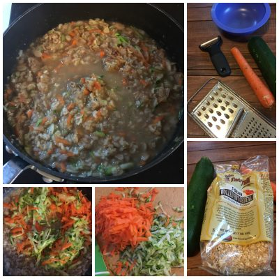Carrot Cake Zucchini Bread Oatmeal