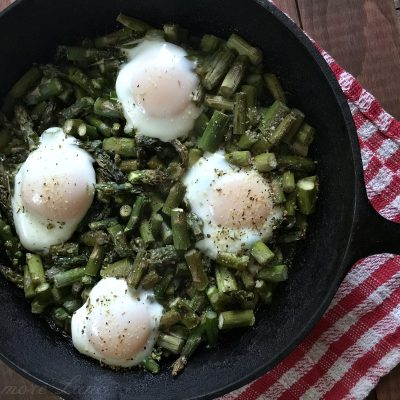 Low Carb Asparagus Egg Bake