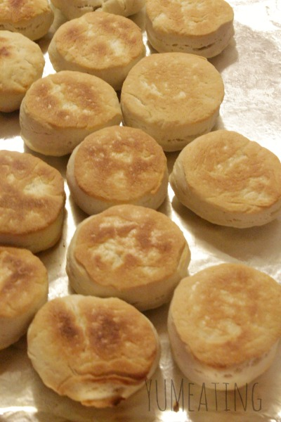 No Eggs No Milk Homemade Dinner Biscuits #SugarFree #Vegan