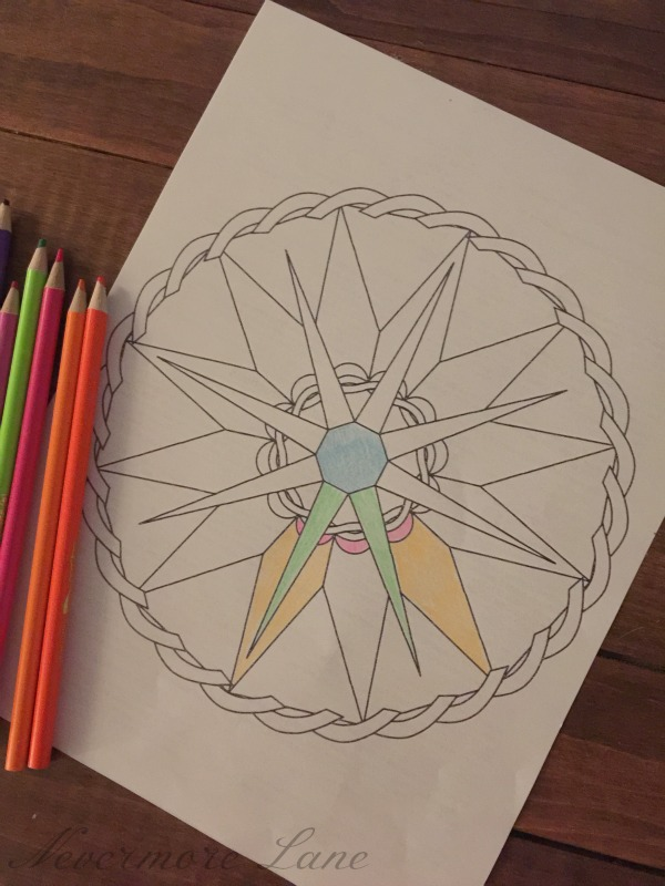 #adultcoloring I'm Back in the Artistic World { and my Top Coloring Book Picks } | Nevermore Lane
