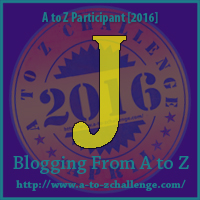 #atozchallenge J is for Joy