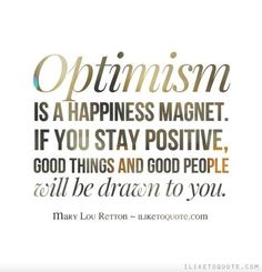 #atozchallenge O is for Optimism