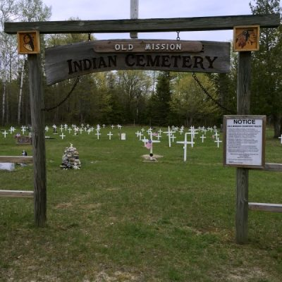 Old Mission Indian Cemetery {Hessel, MI}