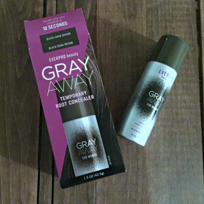 EVERPRO Beauty Keeps My Gray Away #GRAYAWAYONTHEGO