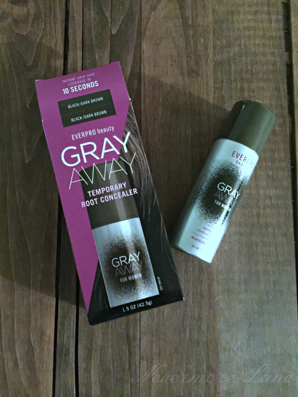 EVERPRO Beauty Keeps My Gray Away #GRAYAWAYONTHEGO