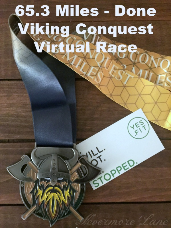 Viking Conquest 65.3 Miles : Complete !! | Nevermore Lane #workout #running #health