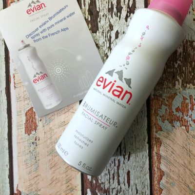 Dry Skin Facial Skin Season is Here! Win the Battle with evian® Facial Spray.