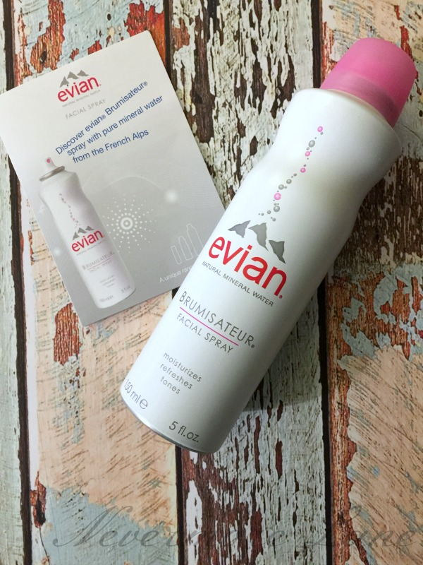 Dry Skin Facial Skin Season is Here! Win the Battle with evian® Facial Spray. #evianspray #anytimespa | Nevermore Lane