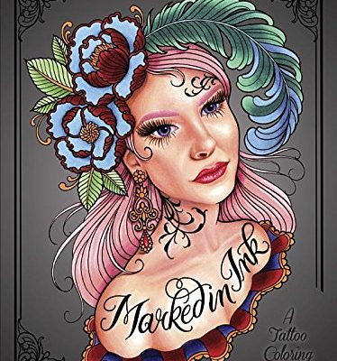 #AdultColoring with Megan Massacre : Marked in Ink