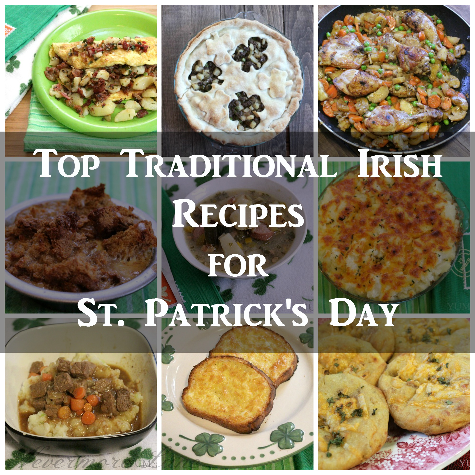Traditional thanksgiving meal list for Authentic irish cuisine