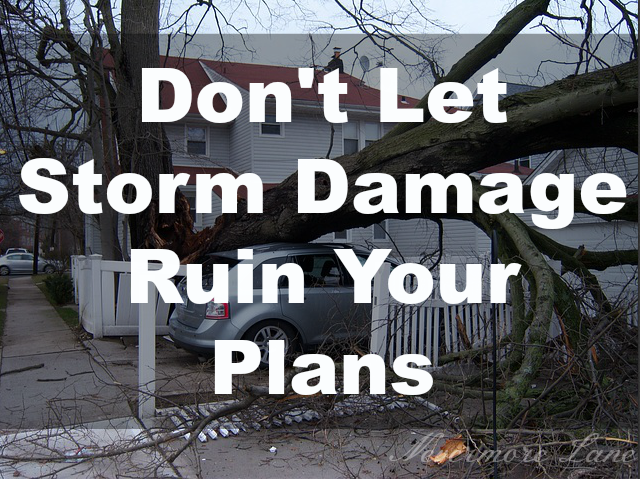 Don't Let Storm Damage Ruin Your Plans